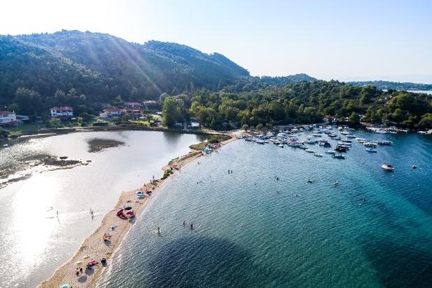 Chaldiki, Panoramabild - Camping von Chalkidiki bis Peloponnes
