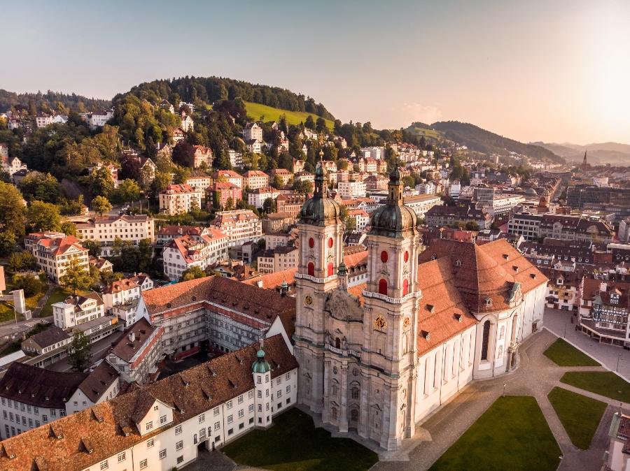 Fuerstabtei St Gallen urlaubsregionen-schweiz