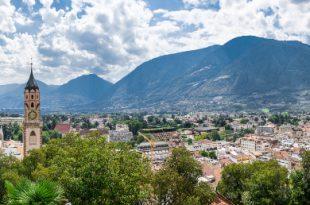 Meran - ideal für Camping in Südtirol