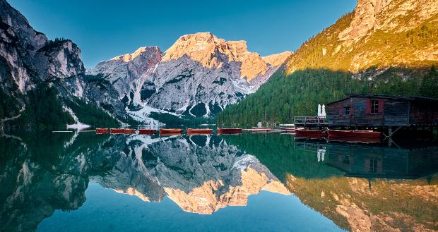 Der Pragser Wildsee - Camping in Südtirol an einem wunderschönen Ort