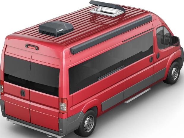 Dometic FreshJet 2000 Dachklimaanlage mit Luftverteilerbox Grau