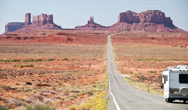Das Monument Valley im Süden Utahs - Mit dem Wohnmobil durch die USA
