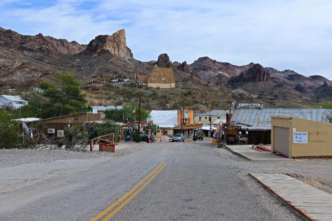 Das Goldgräberstädtchen Oatman in Arizona