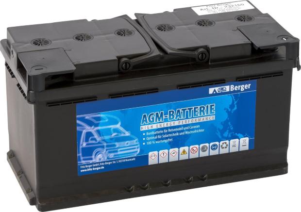 Berger AGM-Batterie