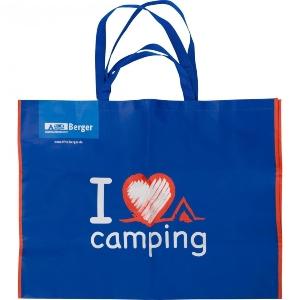 Berger Tragetasche XXL I love Camping