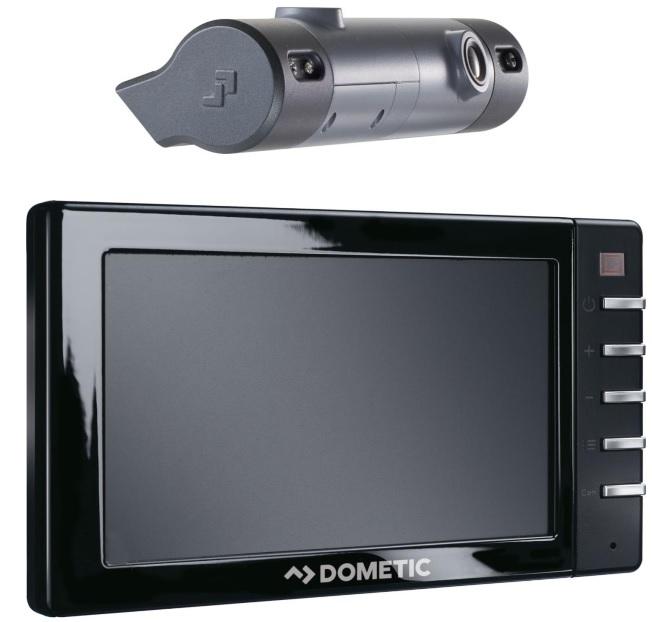 """Dometic RVS7200 Rückfahrsystem mit 7"""" Monitor und Rückfahrkamera"""