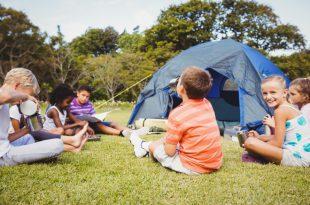 Kids Campen im Garten