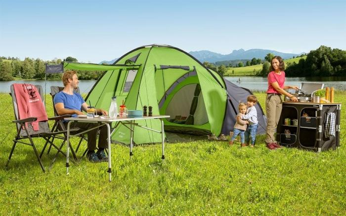 Berger Merano 4 Familienzelt familienfreundliche Campingplätze
