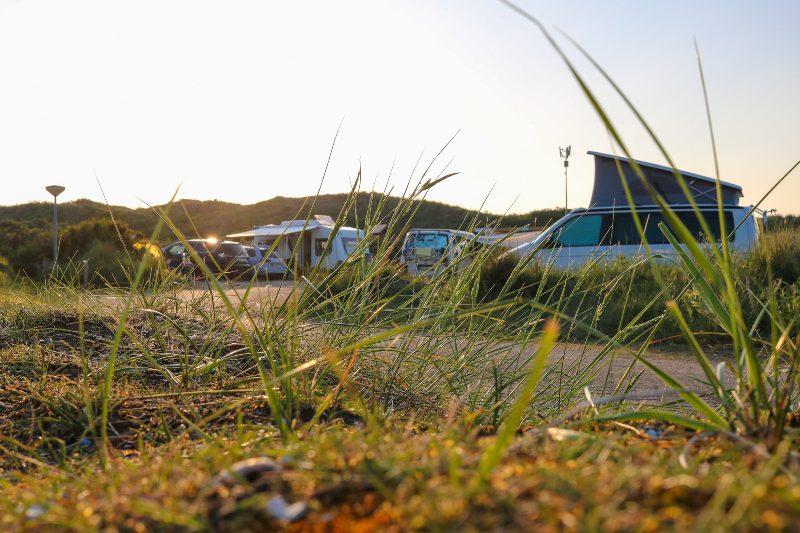 Campingplatz in den Duenen von Nordholland Camping in den Niederlanden