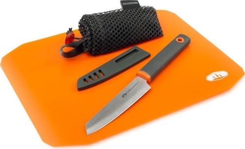 GSI Santoku Cut+Prep Schneidebrett mit Messer