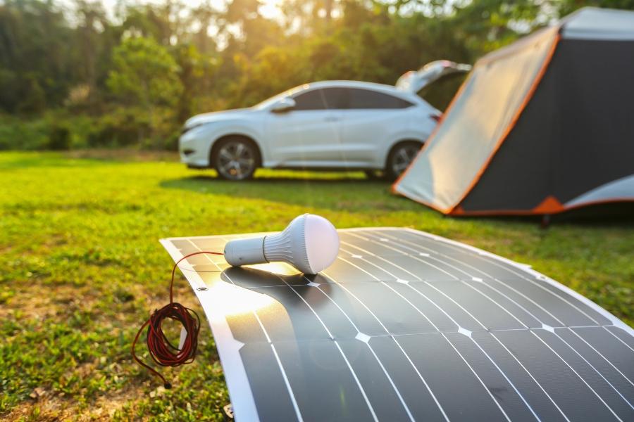 solarpanel-camping Stromversorgung beim Camping