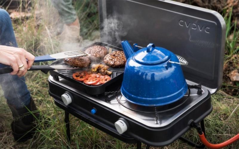 Cadac Kocher Grill 2-Cook Deluxe 50 mbar Kurztrips fuer die Schweiz