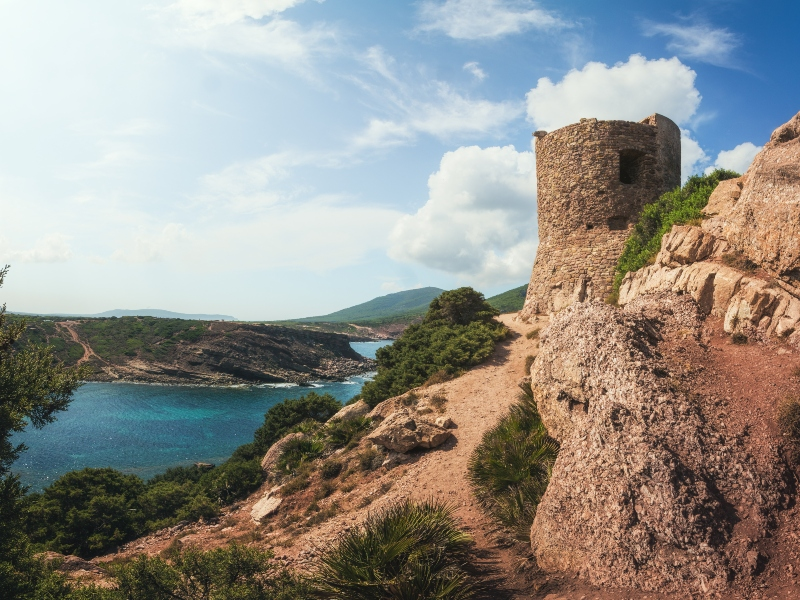 Torre del Porticciolo Sardinien