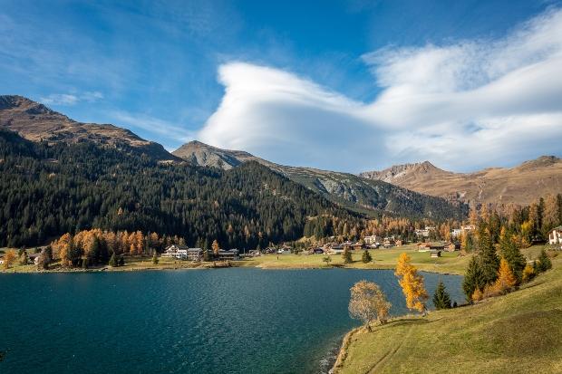 Davos und Davoser See