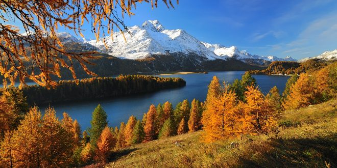 Silsersee Herbst 2021