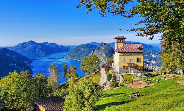 Der Luganer See - Die schönsten Schweizer Seen