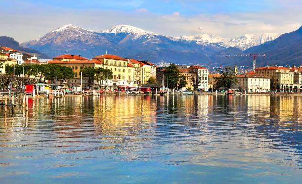 Lugano - Die schönsten Schweizer Seen