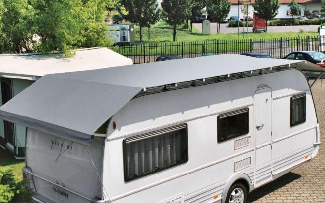 Nellen Zelte Wohnwagen Schutzdach Typ 1 380 - 450 cm