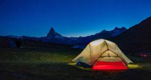 Nachts Zelten am Matterhorn - Biwakieren