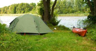 Camping am See - Unabhängige Trekkingferien