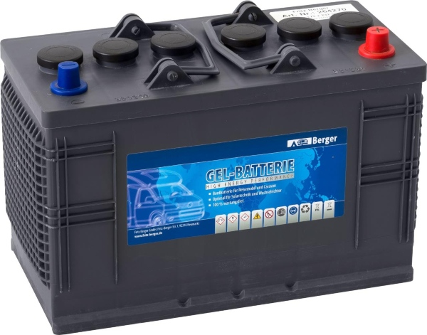 Berger Gel-Batterie