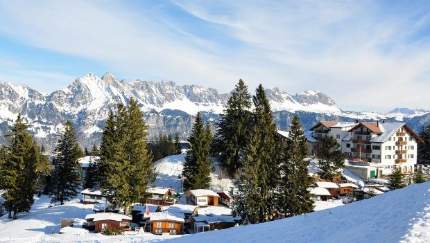 Flumserberg in der Schweiz im Winter - Winterwandern für jeden