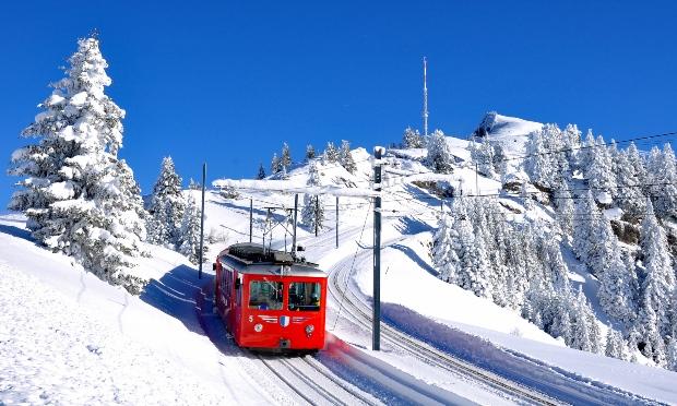 Die Rigi Bergbahn