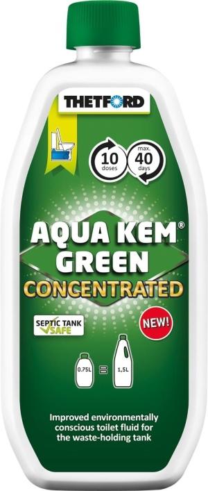 Thetford Aqua Kem Green Concentrated 750 ml Sanitärflüssigkeit