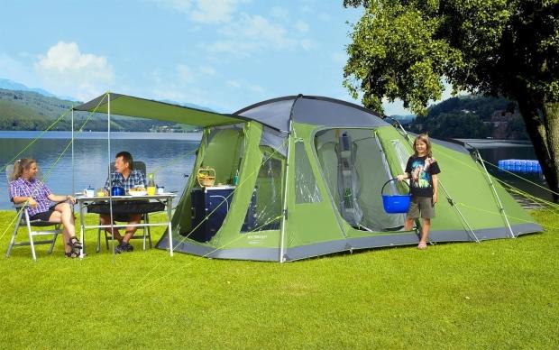 Berger Otario 5 Familienzelt - Camping in Istrien