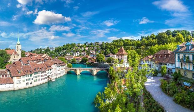 Bern, Aale, Altstadt - Ferien in der Schweiz 2021