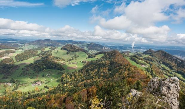 Belchenflue im Baselland - Wildcampen in der Schweiz ist nicht überall gestattet
