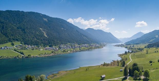 Der Weißensee in Kärnten