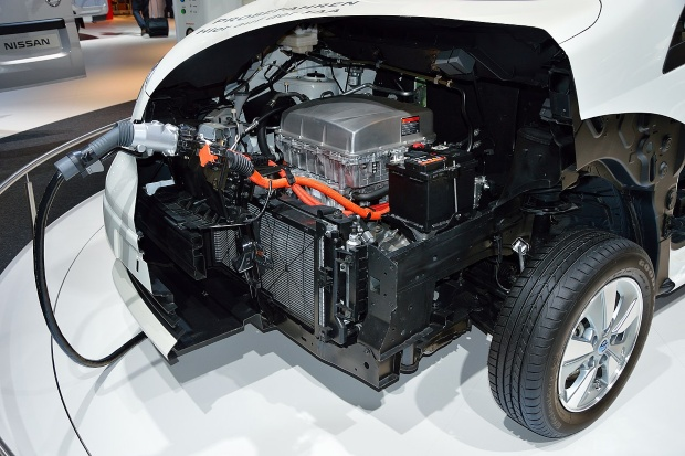 Nissan e-NV200 Elektromotor - Elektro-Camper