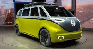 Volkswagen-ID. Buzz - Elektro-Camper