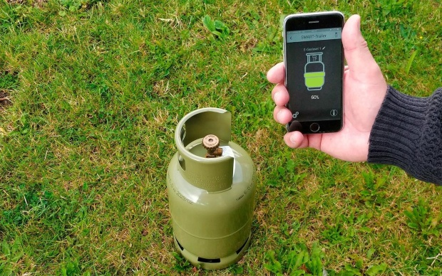 E-Trailer E-Gaslevel Gaslevelsensor für Smart Trailer System