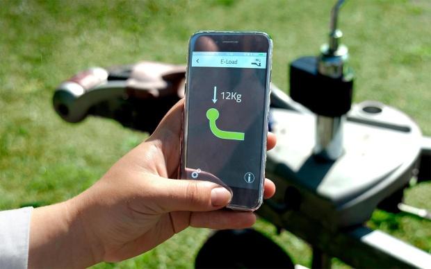 E-Trailer E-Load Stützlastsensor für Smart Trailer System