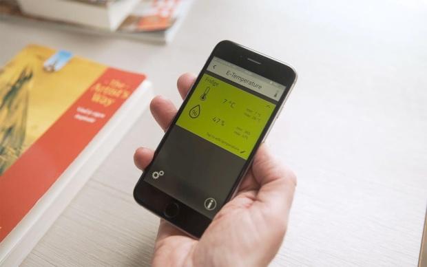 E-Trailer Temperatursensor für Smart Trailer System