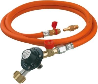 GOK Gasdruckregler mit Schlauch und Übergangsstück