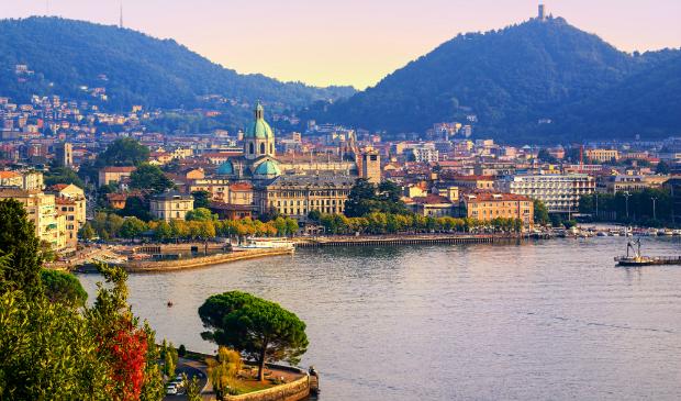 Como, die wunderschöne Hauptstadt der Region